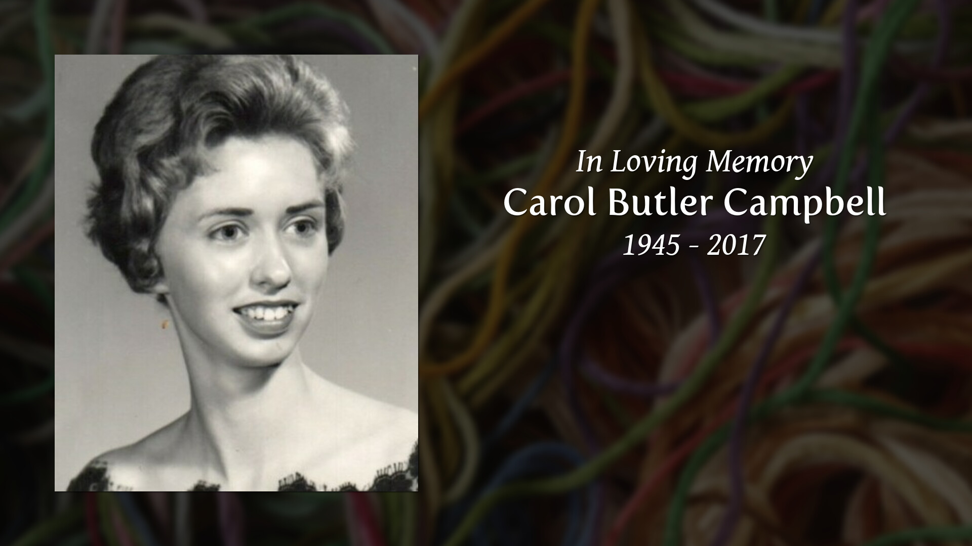 Obituary for Carol Butler Campbell
