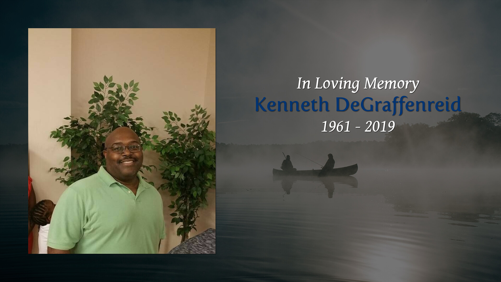 Obituary for Kenneth DeGraffenreid | Lea Funeral Home